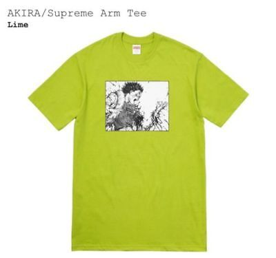 Supreme x Akira  Armed T shirt Lime Green Size  XL  in Hand