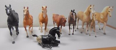 Lot of 9 Assorted Traditional Breyer Horses