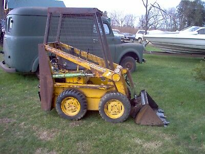 Owatonna Mustang 310 Skid Loader skid steer No Reserve same as John Deere 60