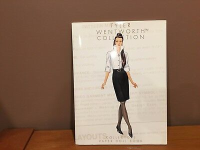 ROBERT TONNER Tyler Wentworth paper doll book SEE PICS.  COOL