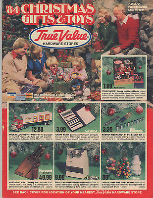 1984 True Value Hardware Stores Christmas Gifts & Toys Catalogue