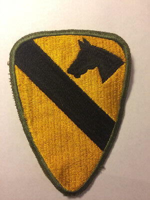 Vintage WWII Army 1st Cavalry Patch