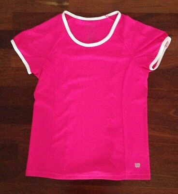Girls Wilson Tennis Top, Size UK 11-12. EUC