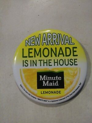 waffle house new arrival Lemonade is in the house button pin minute maid