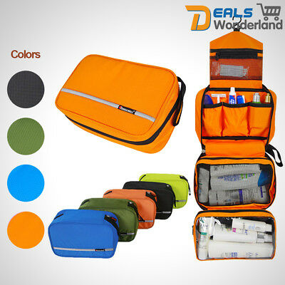 Portable Waterproof Cosmetic Hanging Holiday Travel Toilet Storage Organizer Bag