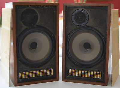 Pair of Vintage Dynaco A-25 Speakers, Tested & Working Perfectly w/ Great Sound!