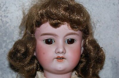 """17 1/2"""" Armand Marseille  Antique Doll A 3 M MADE IN GERMANY 390 BISQUE OLD HEAD"""