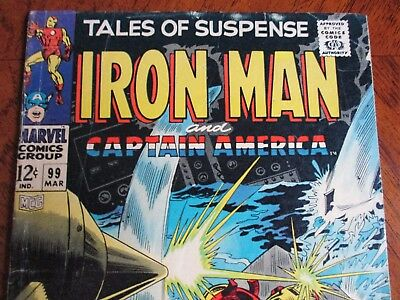 Tales of Suspense #99 (Mar 1968, Marvel) Last issue of this series!!