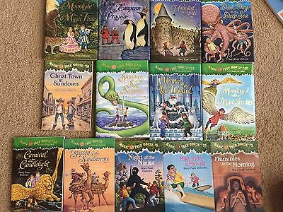 Lot Of 13 Magic Treehouse Books Hardcover Softcover Osborne Great!