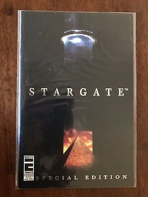 Stargate Special Edition Issue #1 Comic Entity Comics July 1996 FREE bag/board