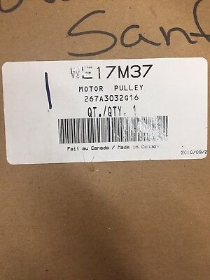 Genuine OEM GE WE17M37 Dryer Motor Pulley