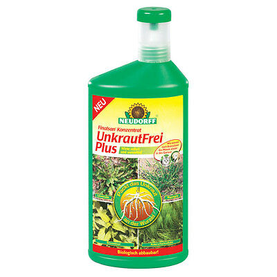 Neudorff finalsan Weed Free Plus 1 LITRE Weed Killer Weed Free Giersch