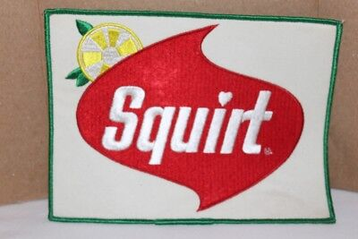 """""""Squirt"""" Soda Jacket Patch Excellent Condition"""
