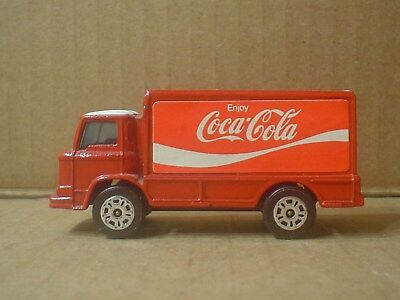 Coca Cola Die Cast Delivery Truck ~ 75th Anniversary ~ Corgi Juniors ~ England