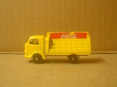 Coca Cola Truck Karrier Bantam Black Tires ~ Lesney Matchbox No.37B ~ England