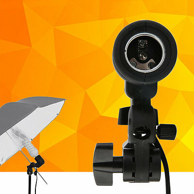 Lamp Holder E27 Socket Flash Photo Lighting Bulb Holder For Photography StudioKE