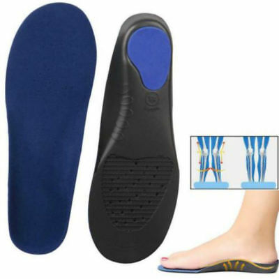 0199a3486d Orthotic Flat Foot Arch Support Cushion Shoe Insoles Heel Pain Relief  Inserts RF