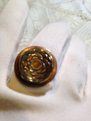 Nemesis Vintage Copper And Brass 1970's  Ring