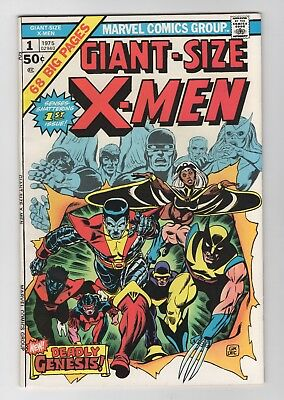 Giant-Size X-Men #1 ([July] 1975, Marvel) NM- 9.2