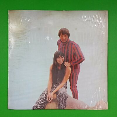 SONNY & CHER Greatest Hits A2S5178 Dbl LP Vinyl VG++ Cover Shrink