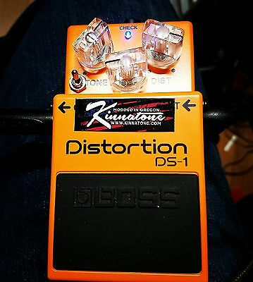UPGRADE your Boss DS1 distortion Beyond Ultra mod by KINNATONE no pedal included