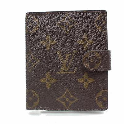 Authentic Louis Vuitton Diary Cover  Browns Monogram 151650