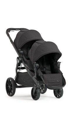 Baby Jogger City Select LUX Stroller Into Double Stroller Large Storage Basket
