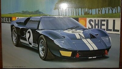 Fujimi 1/24 Ford GT40 MkII 1966 LeMans winner Miles/Ruby - As new