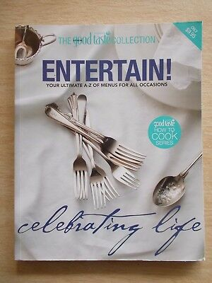 The Good Taste Collection~Entertain~Cookbook~Recipes~Xmas~Asia~Europe~128pp  P/B
