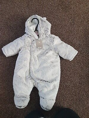 Baby snowsuit newborn brand new with tags