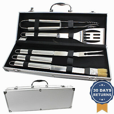 Outdoor BBQ Accessories Tool Set Stainless Steel Barbecue Grill Utensil Kit