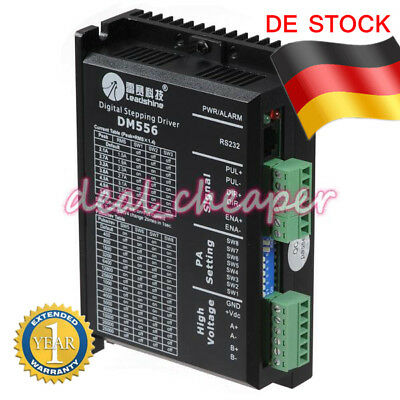 Leadshine DM556 2-Phase Digital Stepper Drive Driver 20 to 50 VDC/0.5 and 5.6A