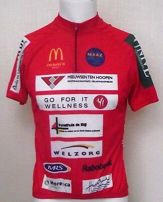 Vintage Retro New Kit  Sports Cycle Jersey Shirt Size L Go For Mont Ventoux