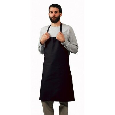 (10 pack) Black Bib Apron, JB's Wear - no pocket, size 86x70. Save $$$