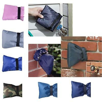 """Outdoor Faucet Cover, Insulate & Protect, Soft/ Flexible, 7""""L x 6""""W 7 Colors"""