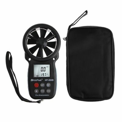HP-866B Digital Anemometer Wind Speed Temperature Measurement Handheld Detectors