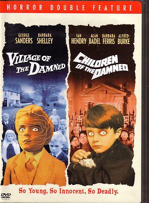 Village Of The Damned/Children Of The Damned. Classic SciFi Twin. New In Shrink!