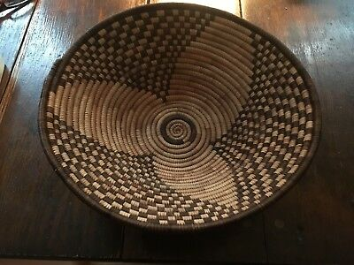"Tutsi Tight Weave 12"" Bowl Beautuful"