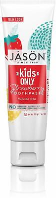 Kids Only Strawberry Toothpaste, Jason Natural Products, 4.2 oz