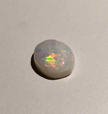 5.2ct 1pcs genuine solid natural white / light opal from Coober Pedy