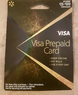 (3) x $100 Visa Cards Activated & Ready to Use FREE 1-3 DAY PRIORITY SHIPPING