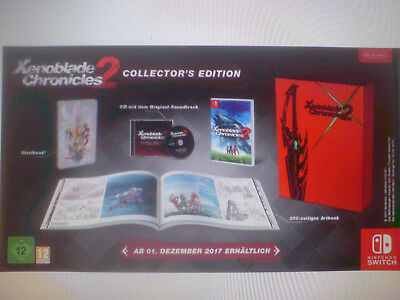 Nintendo Switch Spiel Xenoblade Chronicles 2 Collector's Edition Neu Vorbestellu