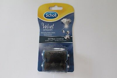 Scholl Velvet Smooth Wet&Dry With Diamond Crystals Extra Coarse - 2 Roller Heads