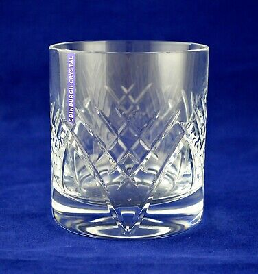 "Edinburgh Crystal ""TORRENT"" Whiskey Glass – 8.9cms (3-1/2″) Tall"