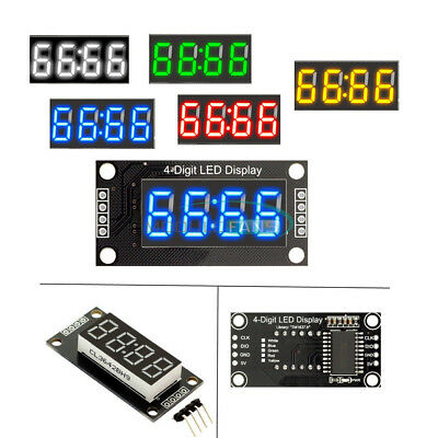 "0.56"" Inch RGB 4-Bits Digital LED TM1637 Clock Tube Display for Arduino"
