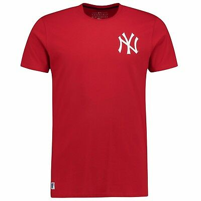 Mens L New York Yankees New Era Pop Back Script T-Shirt M240