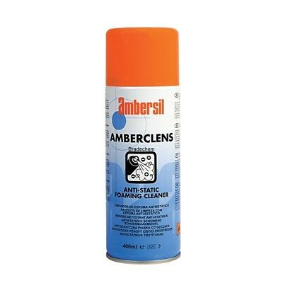 Ambersil 31592 Amberclens Anti-Static Foaming Cleaner 400ml Aerosol