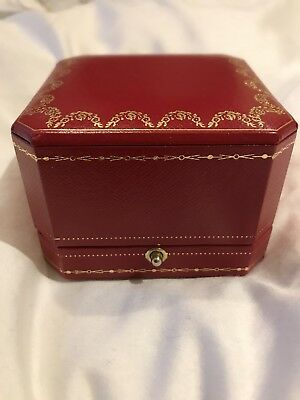 Large Cartier Ring Box Brand New Without Box