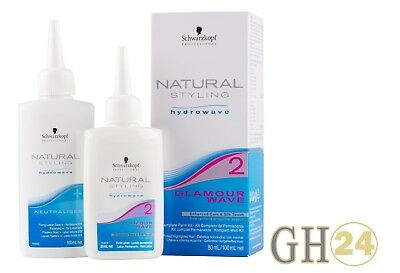 Schwarzkopf Natural Styling Glamour Wave 2 Kit 80ml/100ml