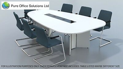 SVEN - Pear Shape Conference, Boardroom, Meeting Table - 2500 x 1500 - Seat 9